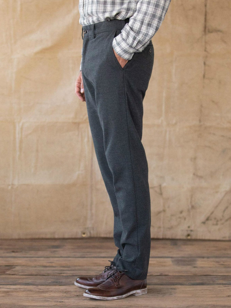 Deep Gray Vintage Cotton Pants