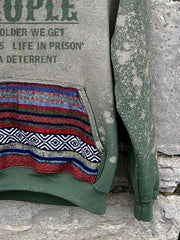 Pockets Vintage Sweatshirt