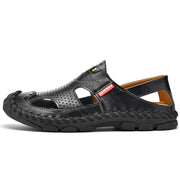 Men's Summer Sandals Lightweight Breathable Solid Color