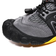 Men Honeycomb Mesh Fabric Slip Resistant Water Shoes