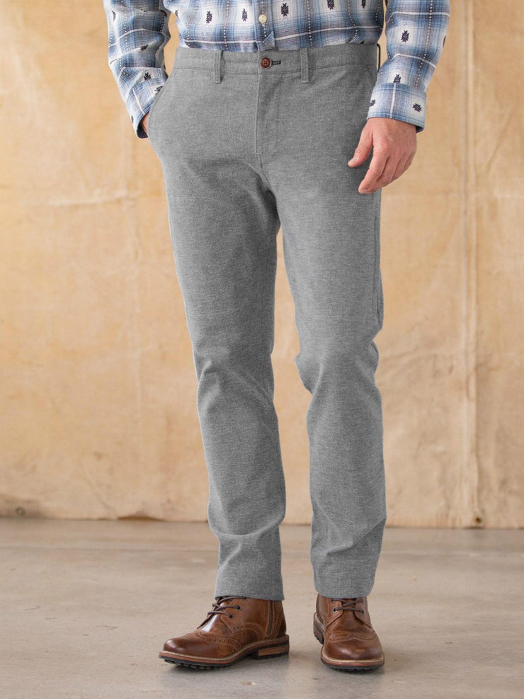 Light Gray Vintage Cotton Pants