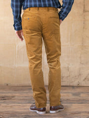 Yellow Corduroy Vintage Pants