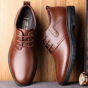 Men Leather Non Slip Business Comfy Formal Shoes