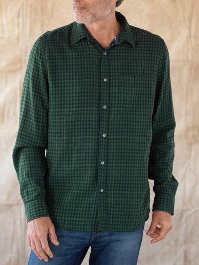 Green V Neck Cotton Casual Shirts & Tops