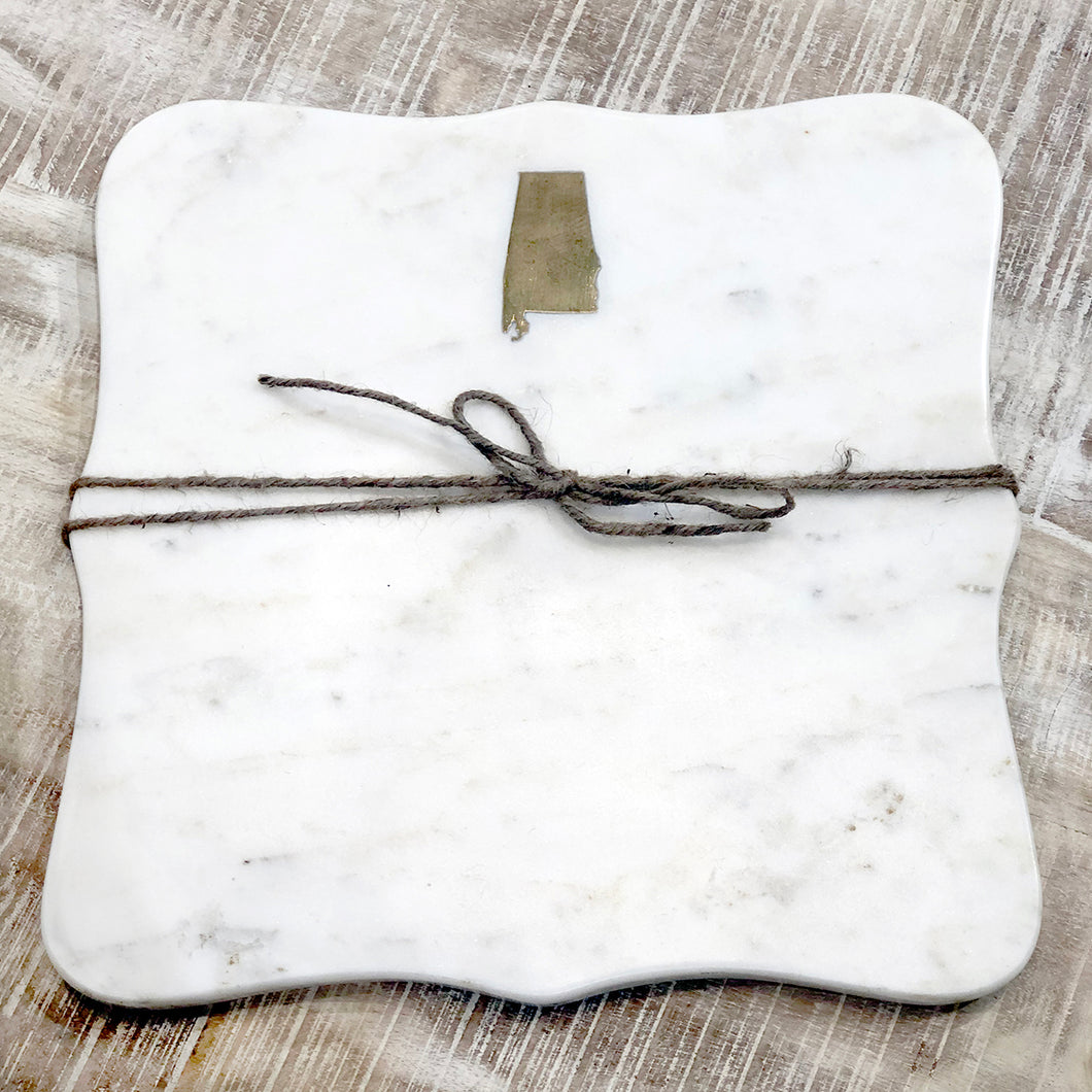 Alabama Marble Serving Board