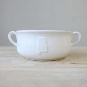 Alabama Double Handle Bowl