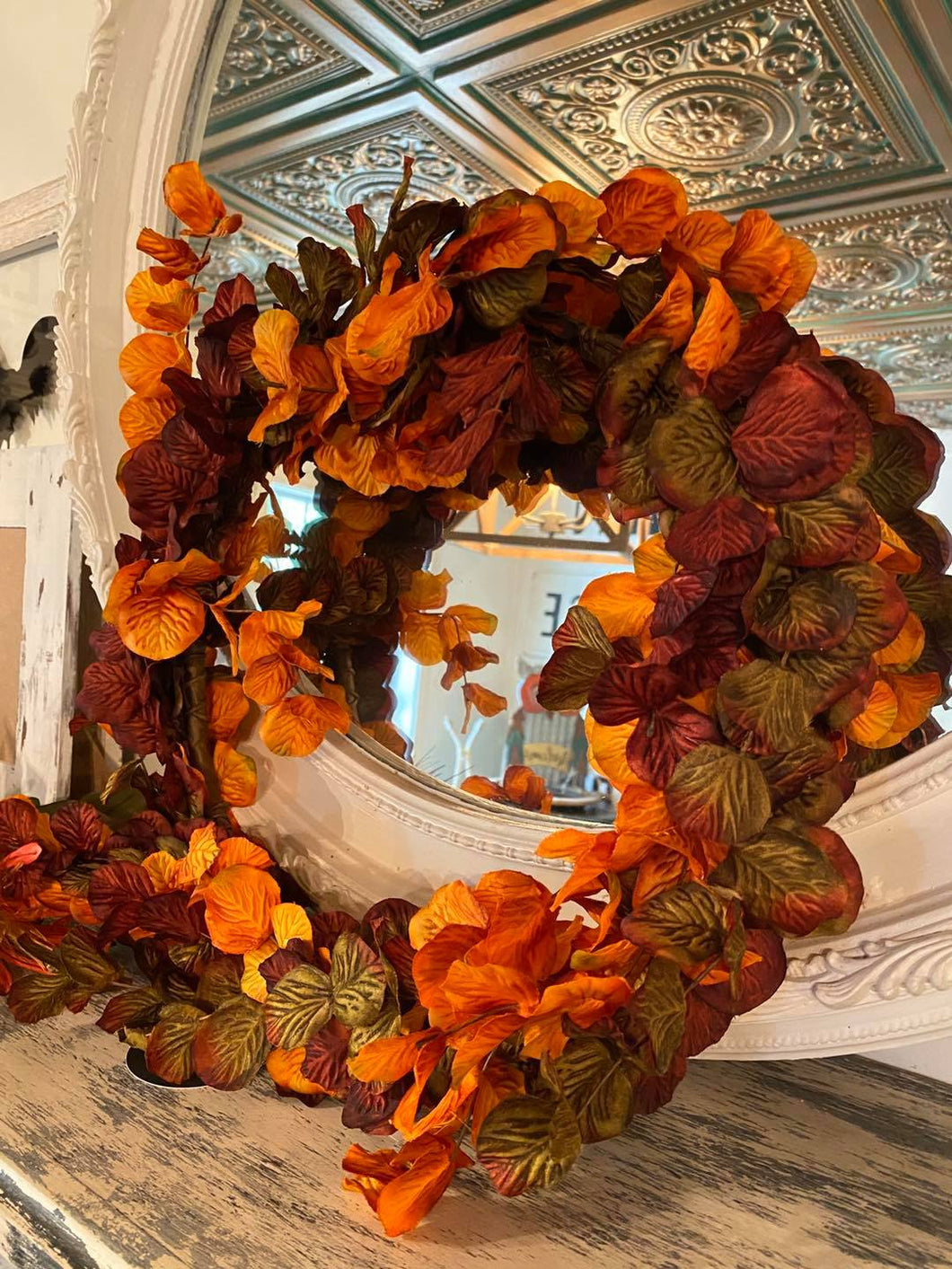 Silk Fall Foliage Wreath