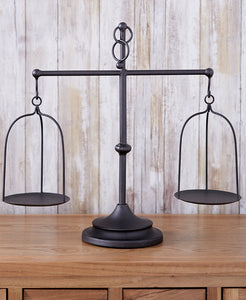 Farmhouse Scale Candleholder