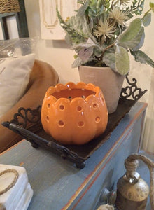 Fall Pumpkin Votive