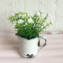 Load image into Gallery viewer, Flowers in rustic pitcher