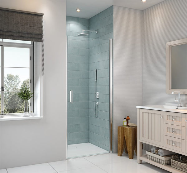 Merlyn 8 Series Frameless Pivot Shower Door In Recess
