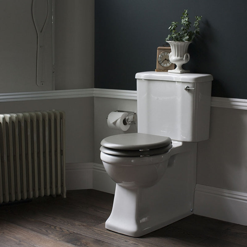 Arcade Full Back To Wall Close Coupled Traditional Toilet