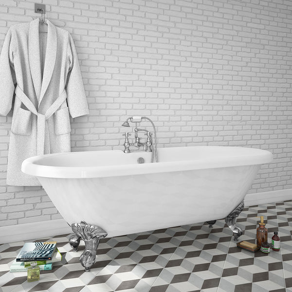 Ascot Traditional Freestanding Acrylic Bath