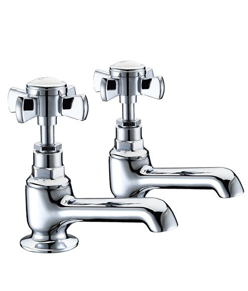 Ascot Traditional Basin Pillar Taps
