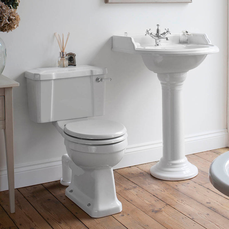 Burlington Standard Traditional Close Coupled Toilet