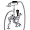 Burlington Claremont Deck Mounted Bath Shower Mixer With S Adjuster