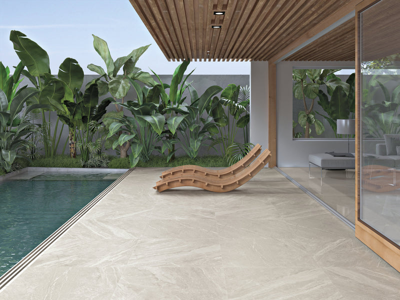Mainstone Oat Tile Polished 60 x 120cm