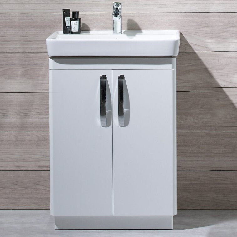 Compass Freestanding Vanity Unit With Deep Basin