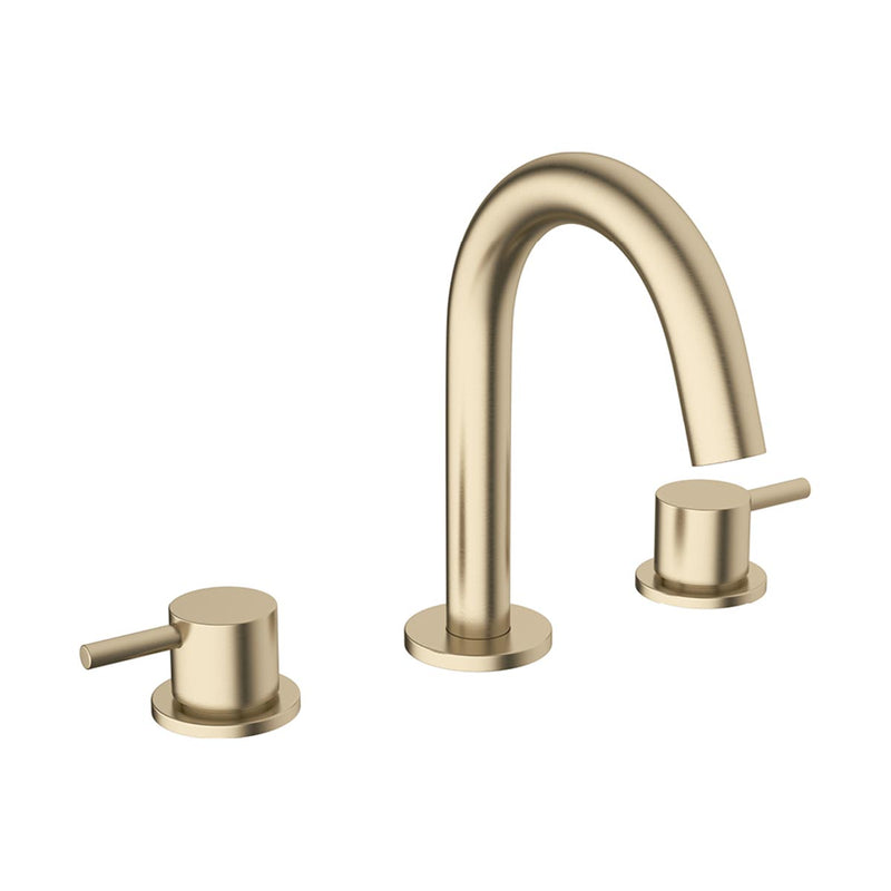Crosswater MPRO 3 Hole Deck Mounted Basin Mixer Tap