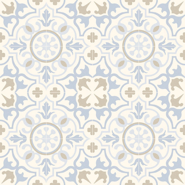 Vives Svenska Jolejon Porcelain Tile Encaustic Cement Tile Effect 20 x 20cm