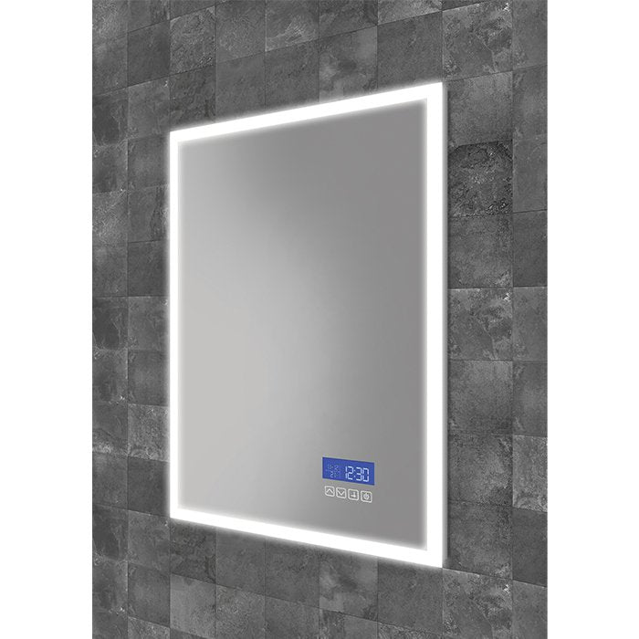 HiB Globe Plus LED Illuminated Mirror With Demister Pad