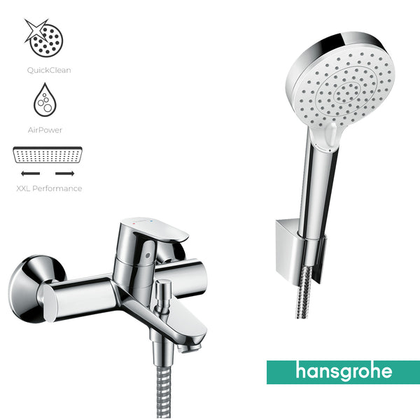 Hansgrohe Bath Mixer and Hand Shower