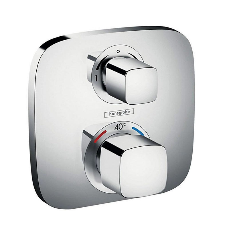 Hansgrohe Cube Valve Croma Select E Shower Set