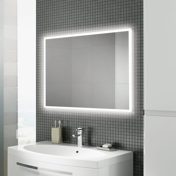 HiB Globe LED Illuminated Mirror With Demister Pad