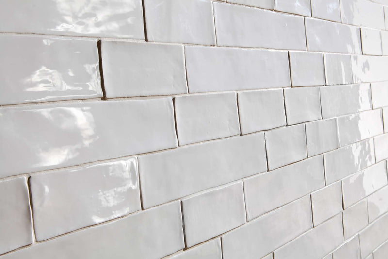 HARMONY Poitiers White Gloss Wall Tile 7.5 x 15cm