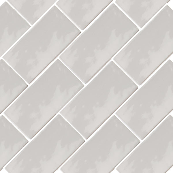 Poitiers Moonlight Gloss Wall Tile 7.5 x 15cm