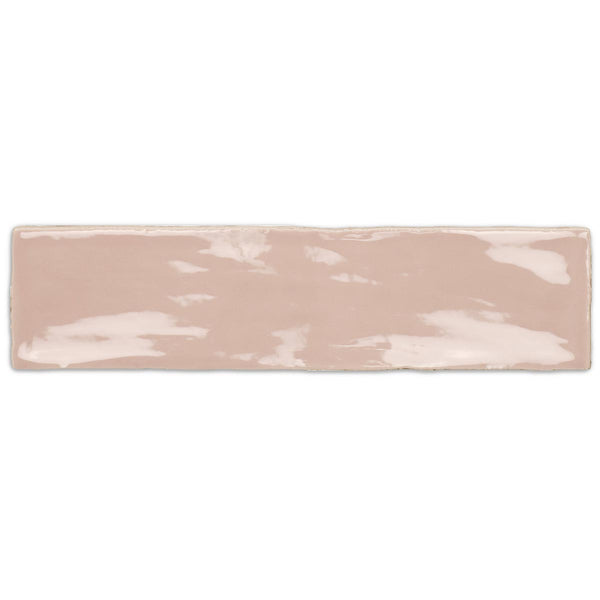 HARMONY Poitiers Rose Gloss Wall Tile 7.5 x 30cm