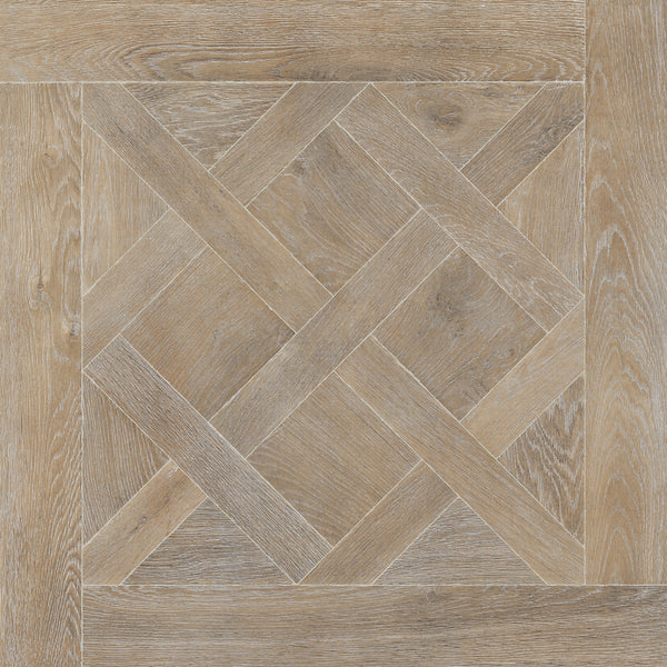 Wistman Mocha Tile Oak Wood Effect Natural Matt 90x90cm