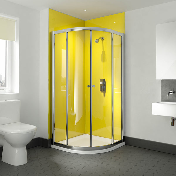 Deluxe Quadrant Shower Door, Tray & Waste Pack