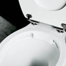 Burlington Rimless Medium Level Traditional Toilet