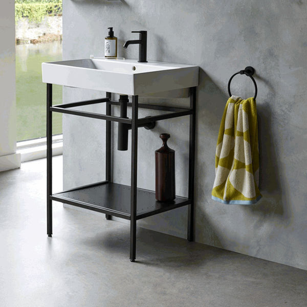 Shoreditch Frame Furniture Stand With Basin