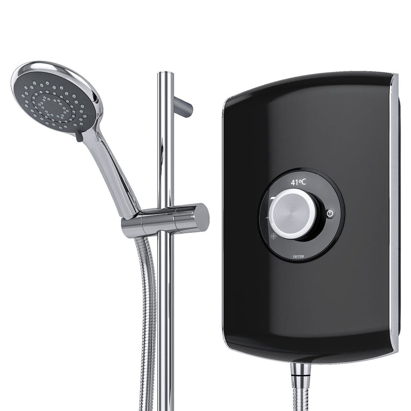 Triton Amore Gloss Black Electric Shower