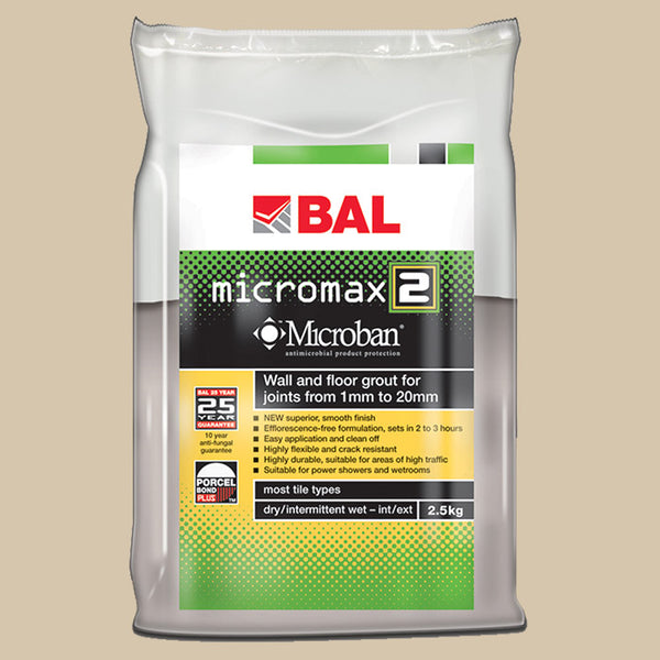 BAL Micromax 2 Tile Grout