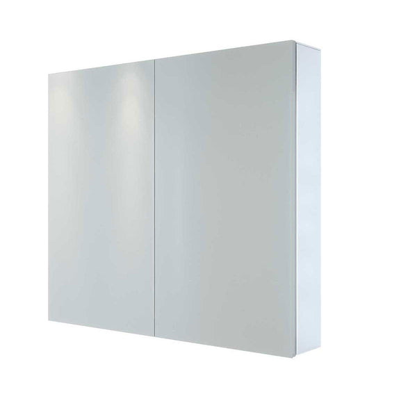 Granlusso 800mm Classic Two Door Gloss  Mirror Cabinet - Ex-Display