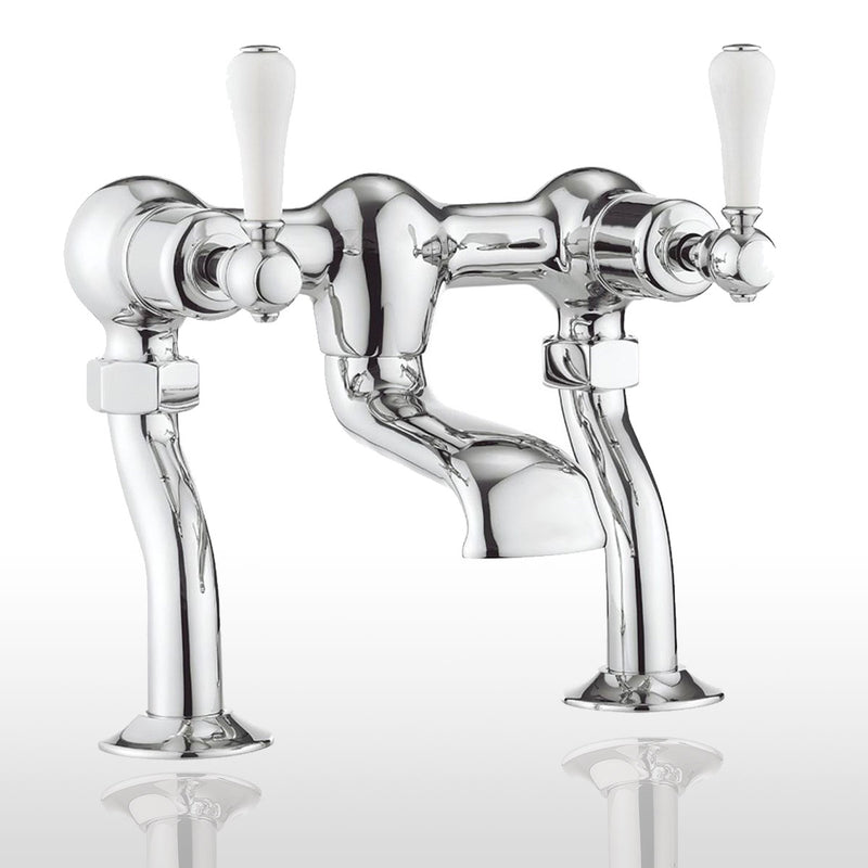 Belgravia Lever Bath Filler - Chrome