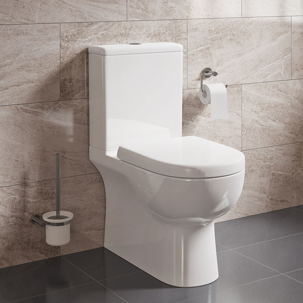 Bondi Rimless Back to Wall Close Coupled Toilet