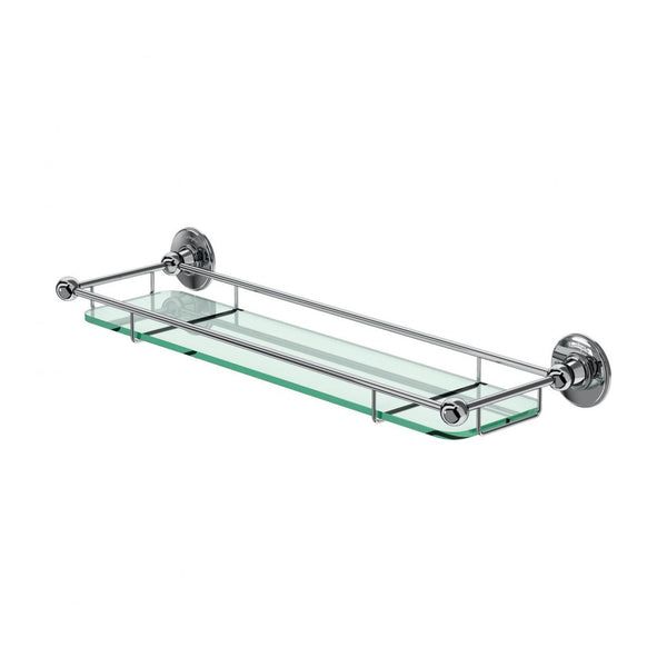 Burlington Glass Shelf With Railing