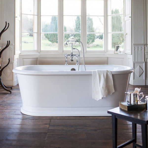Burlington London 1800 x 850mm Round Double-Ended Bath