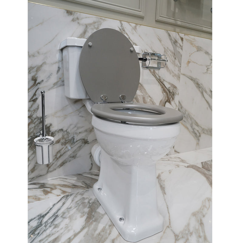Burlington Rimless Close Coupled Traditional Toilet