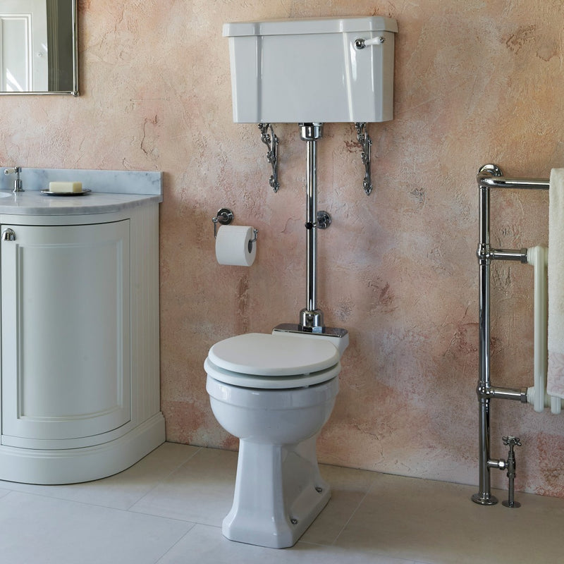 Burlington Regal Medium Level Traditional Toilet