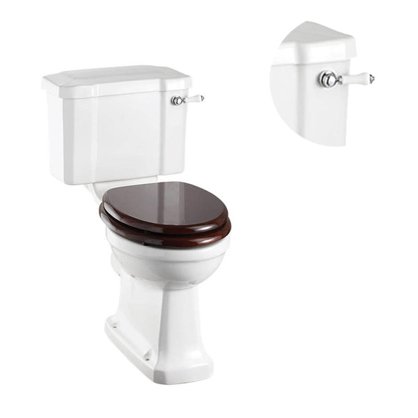 Burlington Regal Close Coupled Traditional Toilet