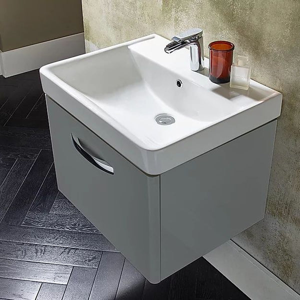Compass Wall Hung Vanity Unit With Deep Basin