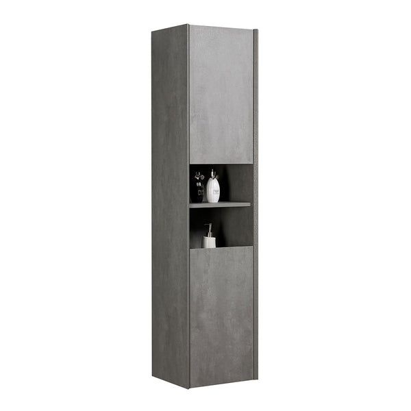 Deluxe Galactic Wal Hung Tall Storage Cabinet