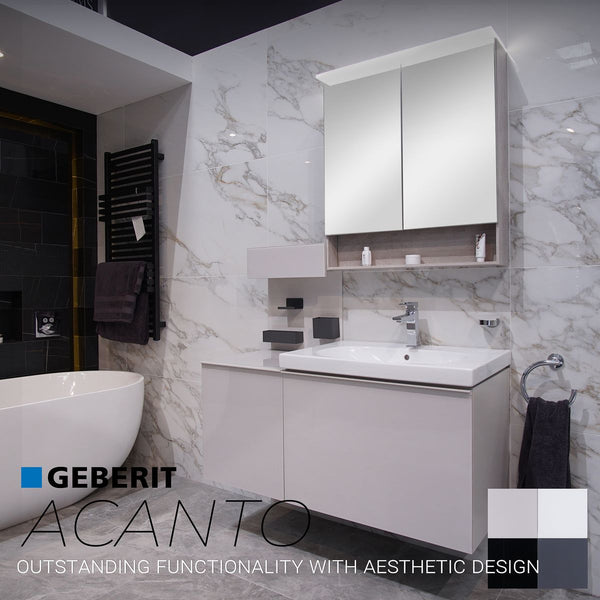 Geberit Acanto Single Drawer Vanity Unit With Washbasin