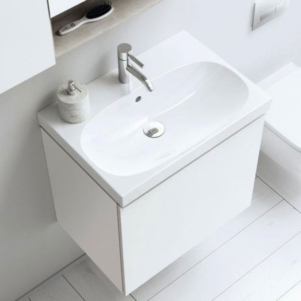 Geberit Acanto Compact Single Drawer Vanity Unit With Washbasin