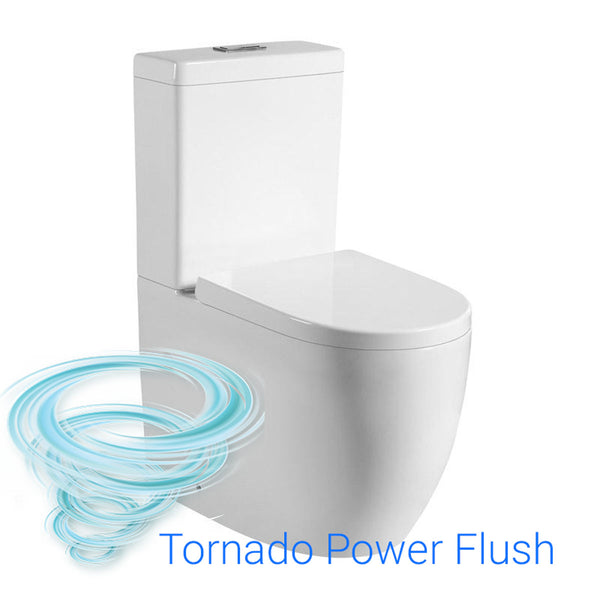 Granlusso Sorrento Back To Wall Toilet with Tornado Flush